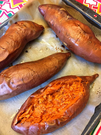 Baked Sweet Potato  Perfect Oven Baked Sweet Potatoes Recipe – Melanie Cooks
