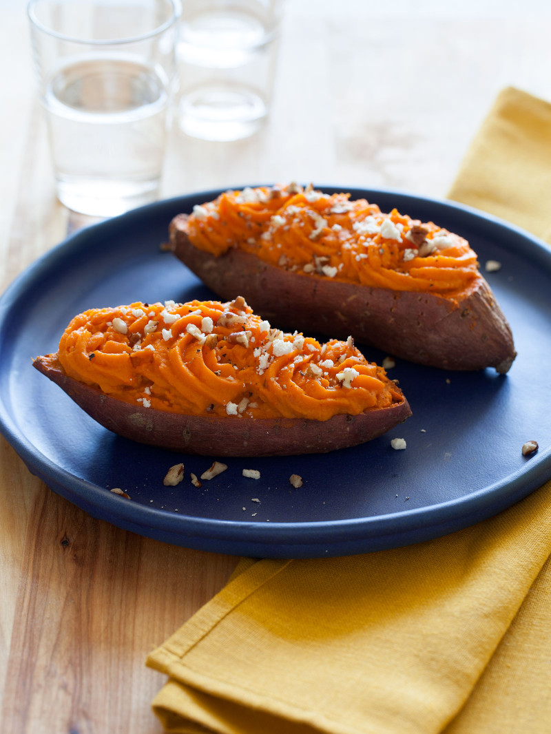 Baked Sweet Potato  Twice Baked Sweet Potatoes Recipe