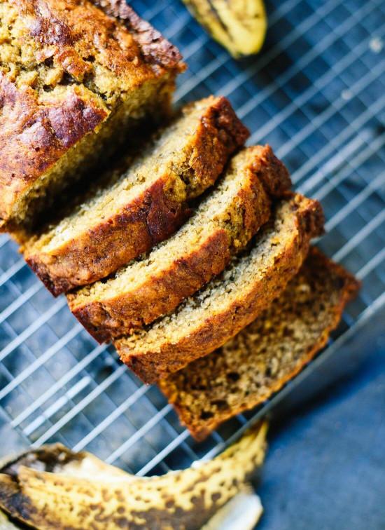 Banana Bread Recipe  Healthy Banana Bread Recipe Cookie and Kate