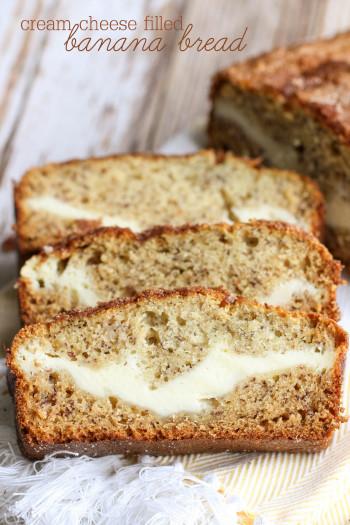 Banana Bread Recipe Unique Cream Cheese Filled Banana Bread