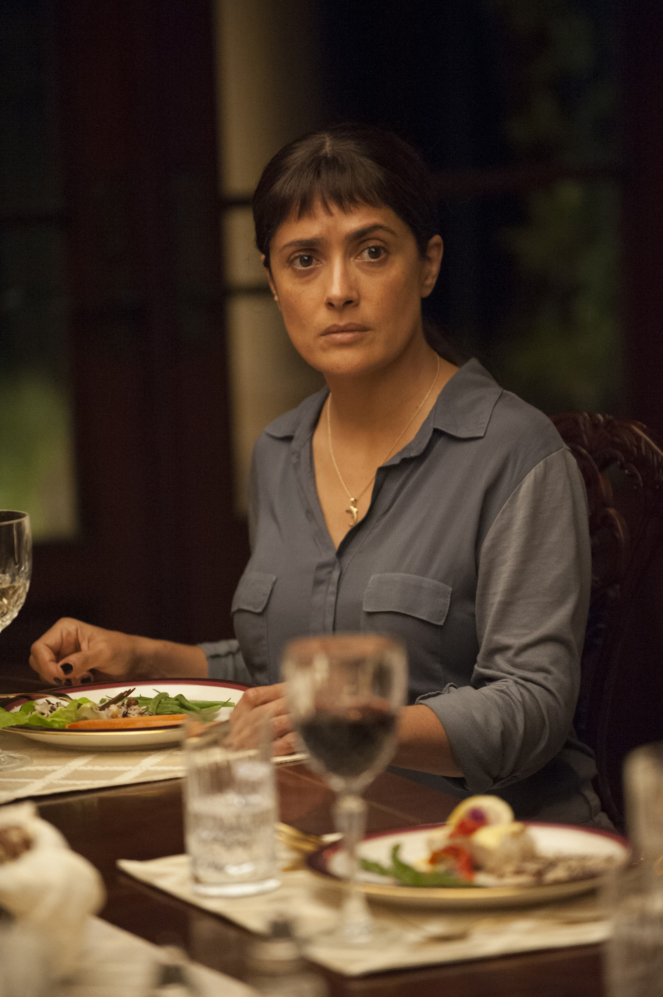 Beatriz At Dinner  Salma Hayek on the Trump Clairvoyance of Beatriz at
