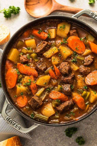 Beef Stew Recipe  Instant Pot Beef Stew Homemade Pressure Cooker