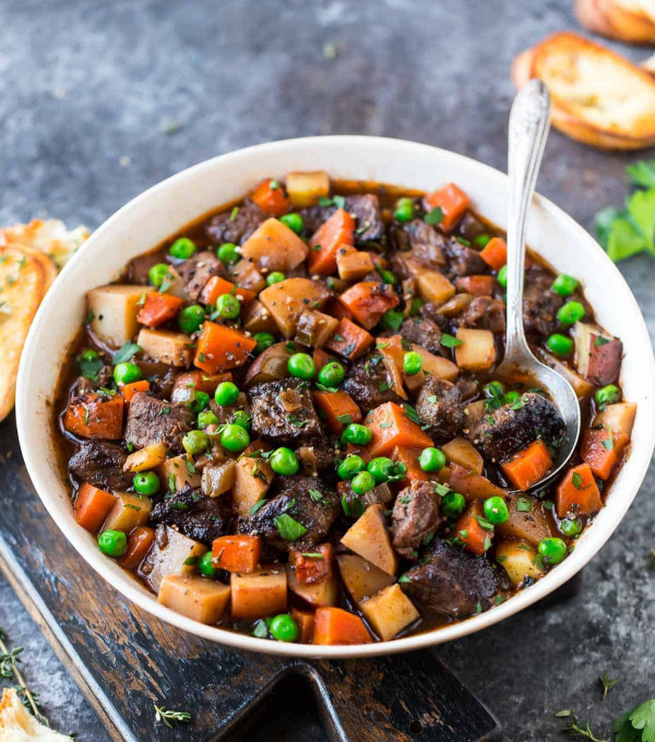 Beef Stew Recipe  Crock Pot Beef Stew Recipe