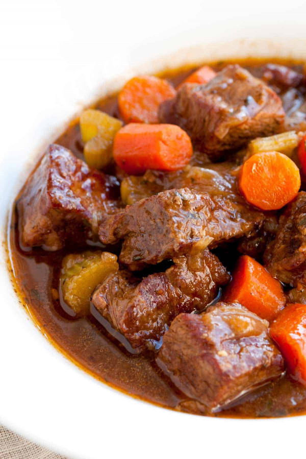 Beef Stew Recipe  Irresistible Guinness Beef Stew Recipe with Carrots