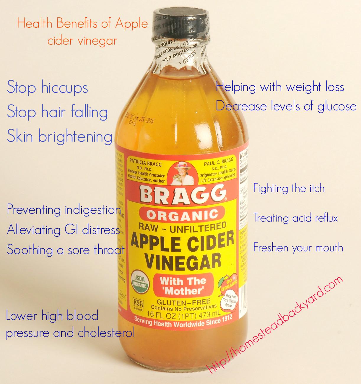 Benefits Of Apple Cider Vinegar  Health Benefits of Apple cider vinegar