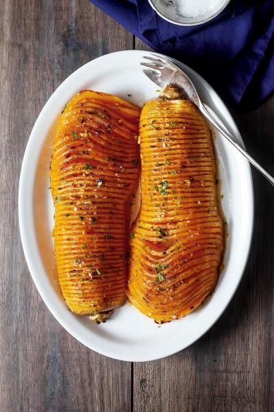Butternut Squash Recipes  Roasted Butternut Squash with Garlic Butter — Eatwell101