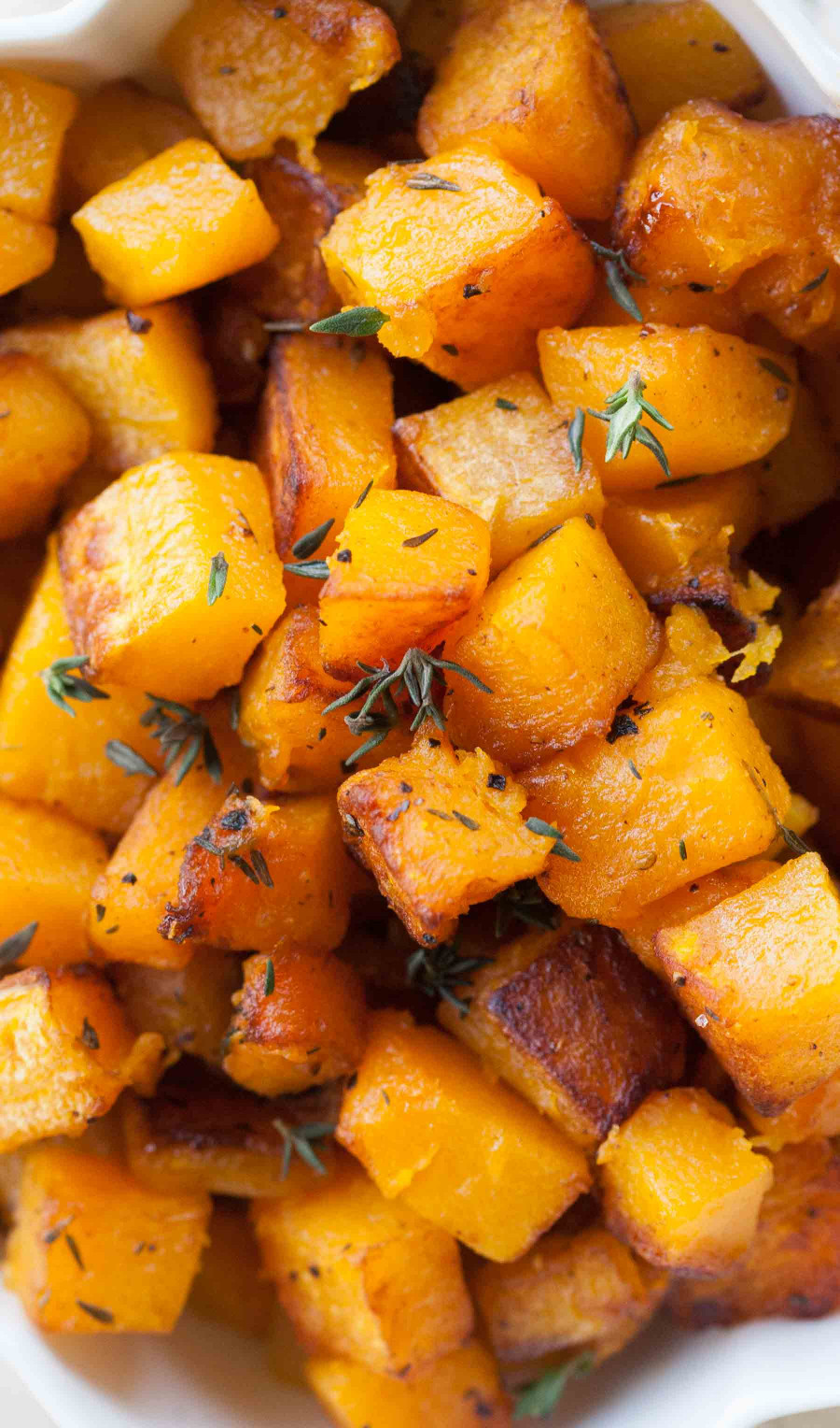 Butternut Squash Recipes  Butternut Squash with Browned Butter and Thyme Recipe