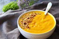 Butternut Squash soup Beautiful butternut Squash & Turmeric Healthy soup
