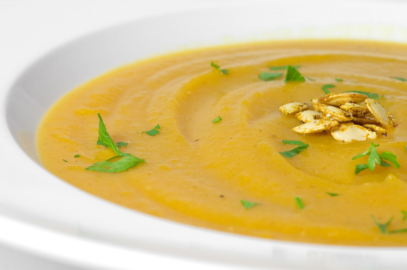 Butternut Squash Soup  Roasted Butternut Squash and Coconut Soup