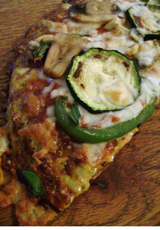 Cauliflower Pizza Crust  Jo and Sue Cauliflower Crust Pizza