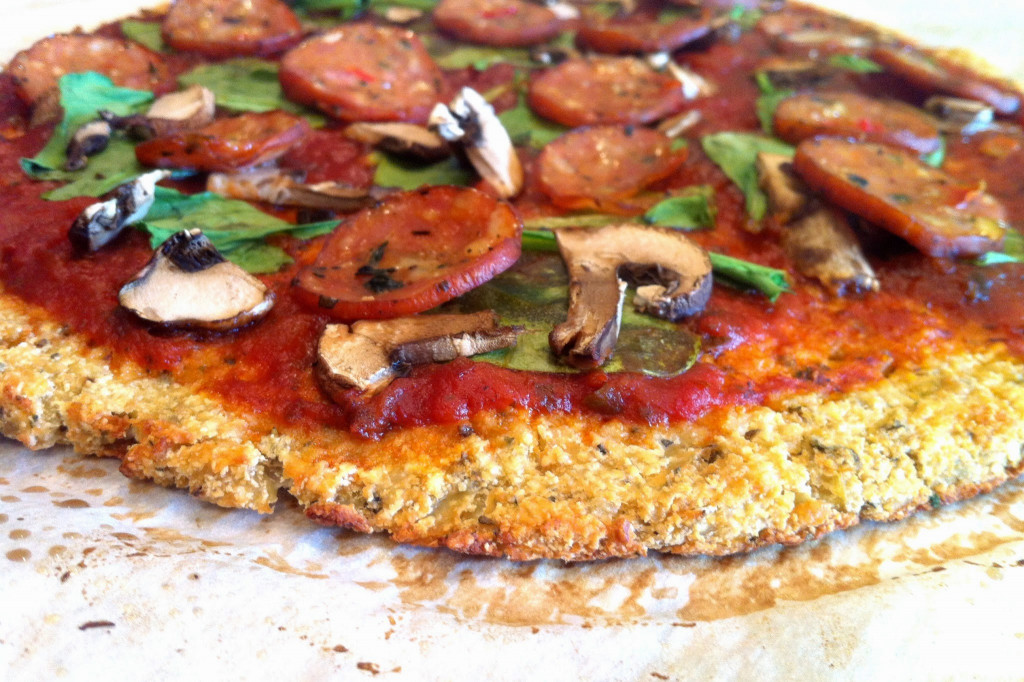 Cauliflower Pizza Crust  Just Jessie B Cauliflower Pizza Crust Paleo