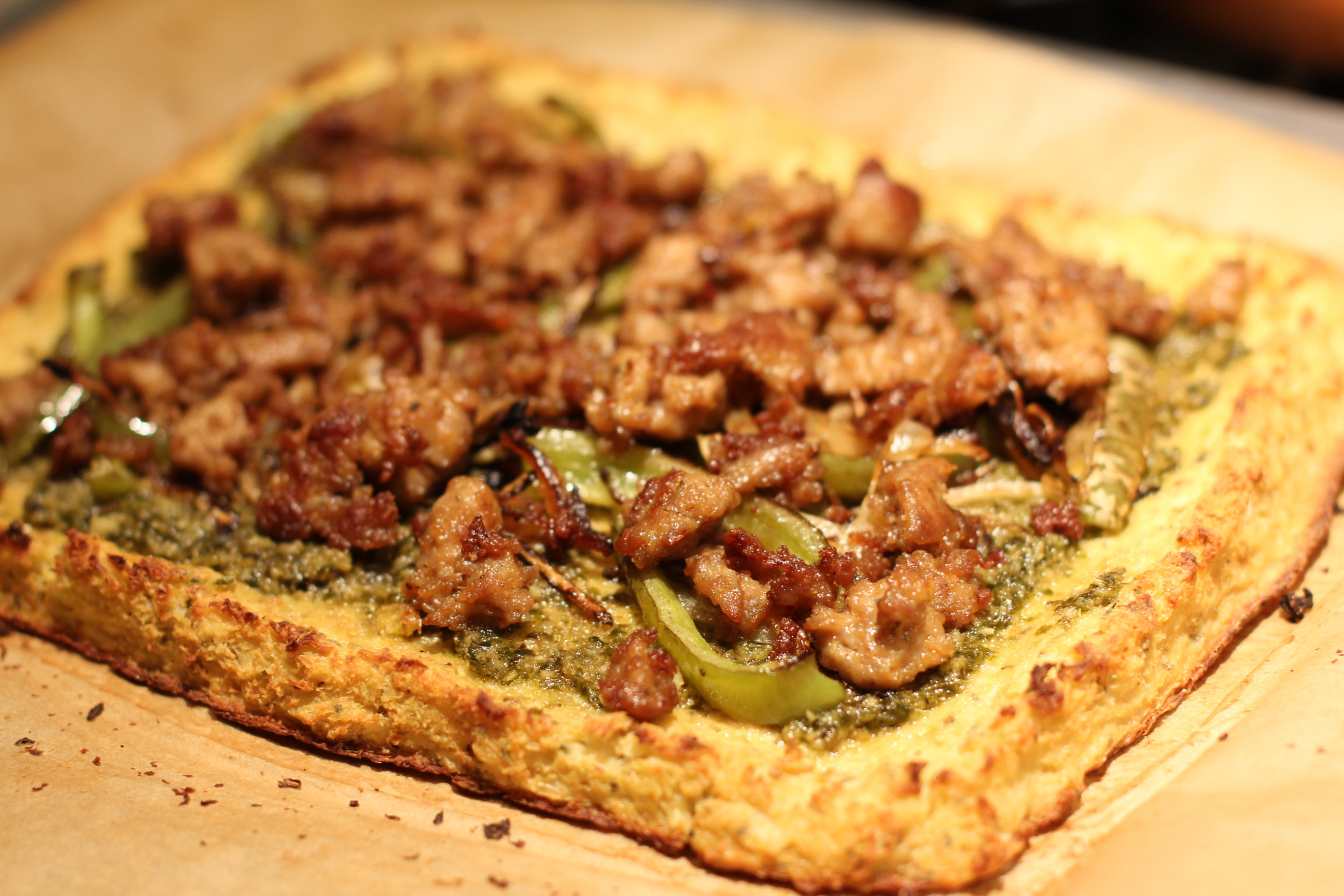 Cauliflower Pizza Crust  Paleo Table Cauliflower Crust Pizza