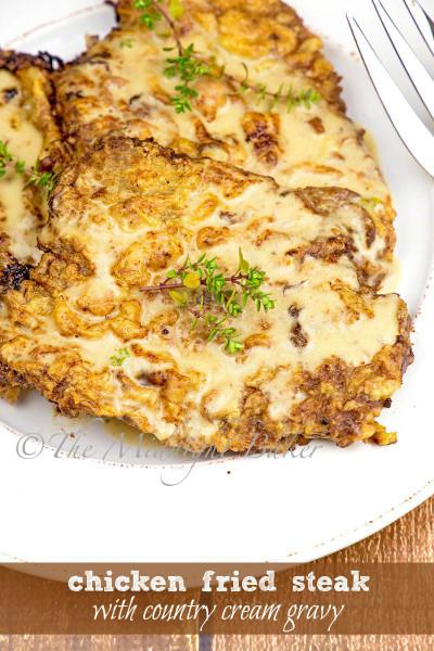Chicken Fried Steak  Chicken Fried Steak with Country Cream Gravy The
