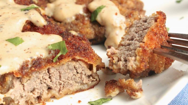 Chicken Fried Steak  CHICKEN FRIED STEAK WITH GRAVY In Good Flavor