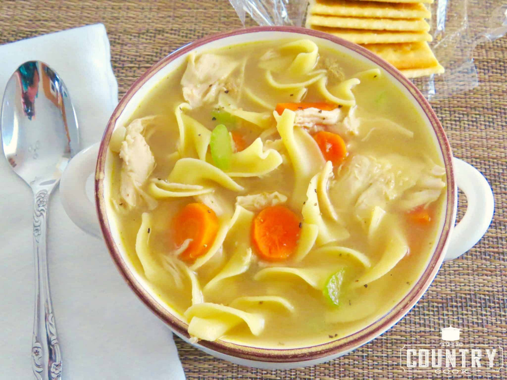 Chicken Noodle Soup  e Pot Chicken Noodle Soup The Country Cook