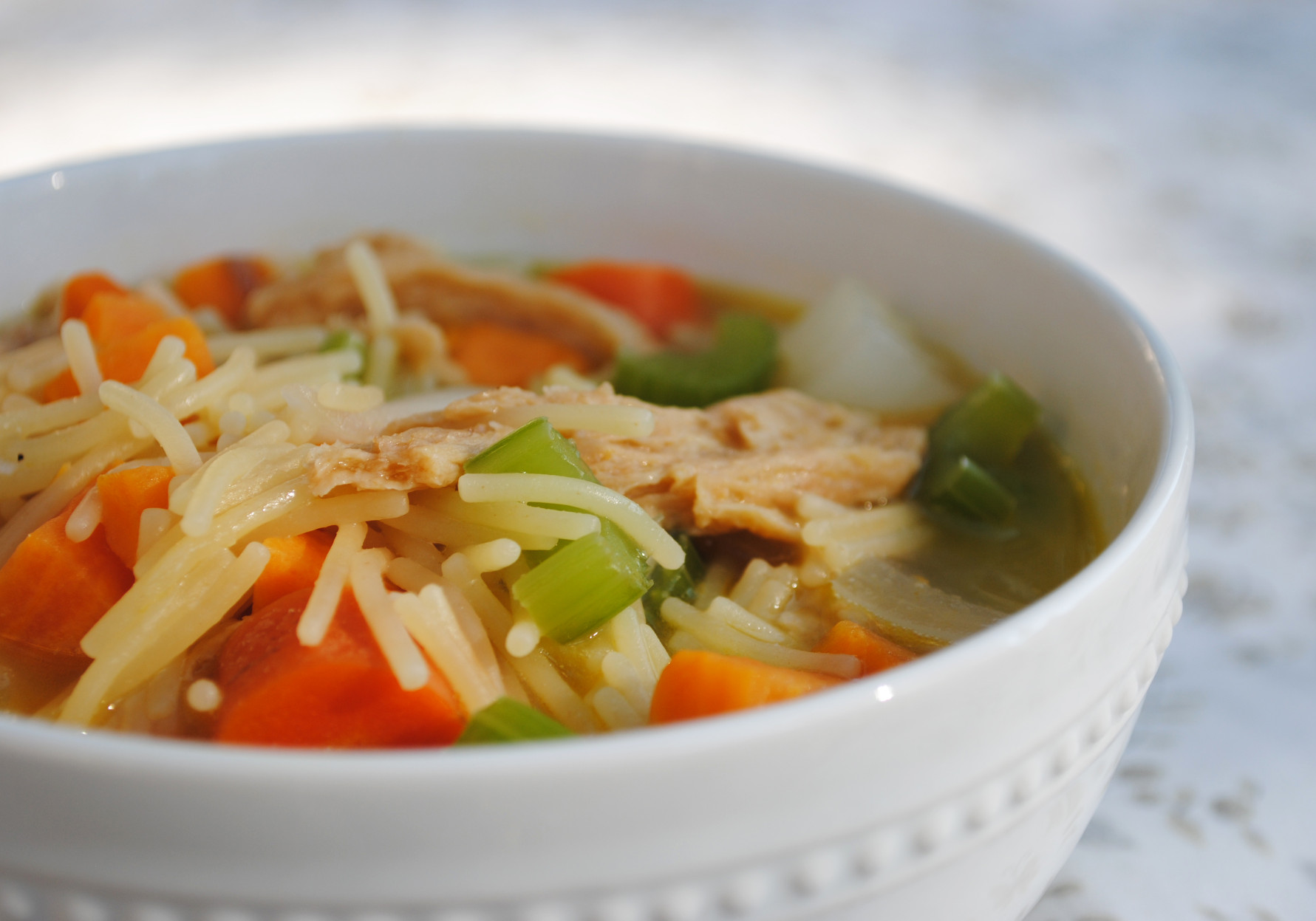 Chicken Noodle Soup  Vegan Chicken Noodle Soup