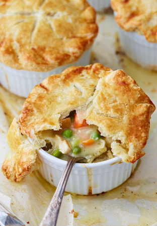 Chicken Pot Pie Recipe  Seriously Good Homemade Chicken Pot Pie i FOOD Blogger