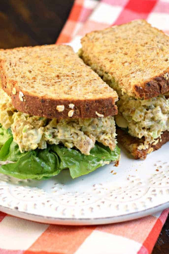 Chicken Salad Chick  Copycat Chick fil A Chicken Salad Sandwich Shugary Sweets