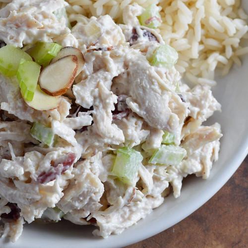 Chicken Salad Recipe  Cranberry Almond Chicken Salad Recipe WonkyWonderful