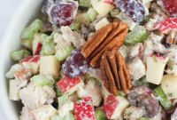 Chicken Salad Recipe Best Of Healthy Chicken Salad with Grapes Apples and Tarragon