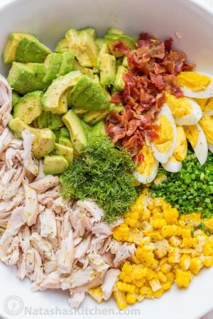 Chicken Salad Recipe  Avocado Chicken Salad Recipe VIDEO NatashasKitchen