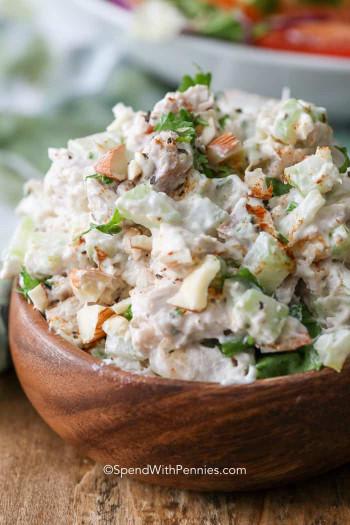 Chicken Salad Recipe  The BEST Chicken Salad Spend With Pennies