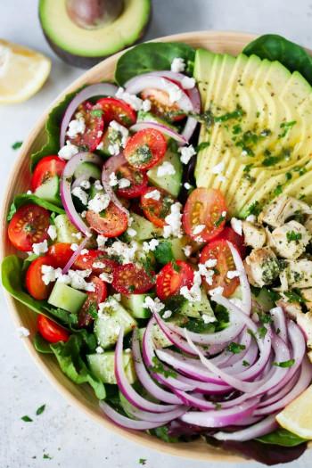 Chicken Salad Recipe  Pesto Chicken Salad Recipe Primavera Kitchen