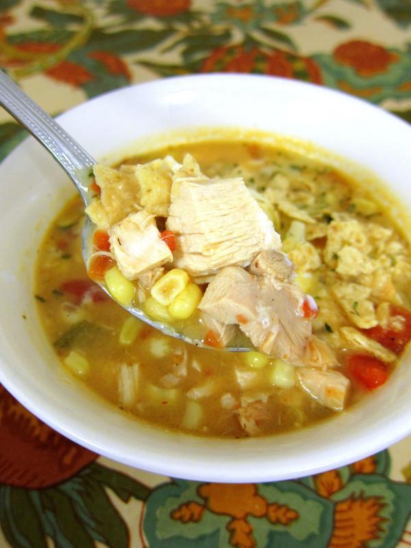 Chicken Tortilla Soup  Chicken Tortilla Soup