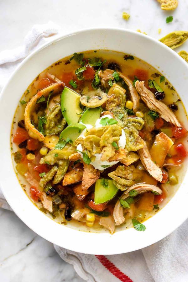 Chicken Tortilla Soup  Chicken Tortilla Soup Recipe