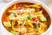 Chicken tortilla soup Inspirational Easy 30 Minute Homemade Chicken tortilla soup Averie Cooks
