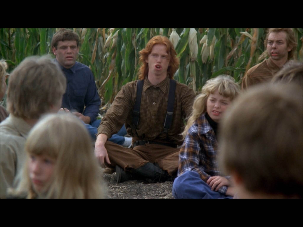 "Children Of The Corn  horror farms with ""Children of the Corn"" 1984"