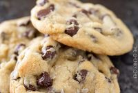 Chocolate Chip Cookies Beautiful Salted Chocolate Chip Cookies the Chunky Chef