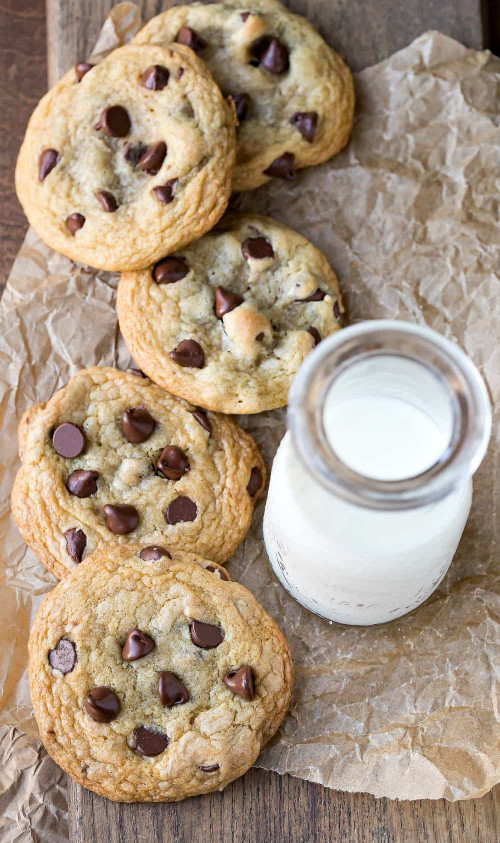 Chocolate Chip Cookies  Chewy Brown Sugar Chocolate Chip Cookie Recipe I Heart