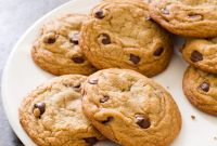 Chocolate Chip Cookies New Perfect Chocolate Chip Cookies