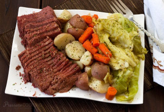 Corned Beef And Cabbage  Pressure Cooker Corned Beef and Cabbage