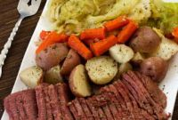 Corned Beef and Cabbage Awesome Pressure Cooker Instant Pot Corned Beef and Cabbage Recipe