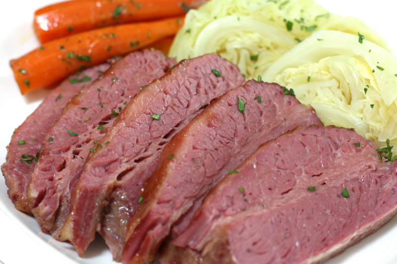 Corned Beef And Cabbage  Emmett McCourt Corned Beef and Cabbage