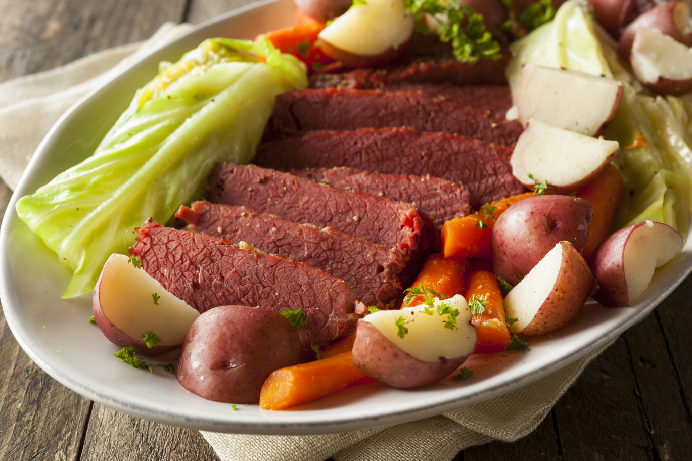 Corned Beef And Cabbage  Sumptuous Corned Beef & Cabbage Recipe Centsably Creative