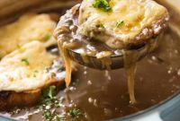 French Onion soup Luxury French Ion soup