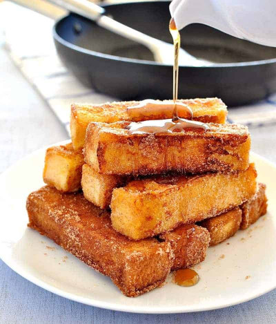 French Toast Recipe  Cinnamon French Toast Sticks