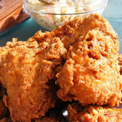 Fried Chicken Recipe  Triple dipped fried chicken recipe All recipes UK