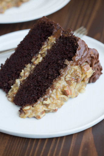 German Chocolate Cake  Homemade German Chocolate Cake Tastes Better From Scratch