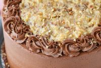German Chocolate Cake New German Chocolate Cake