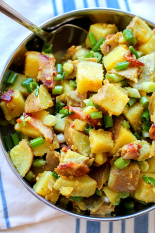 German Potato Salad  German Style Sweet Potato Salad The Roasted Root