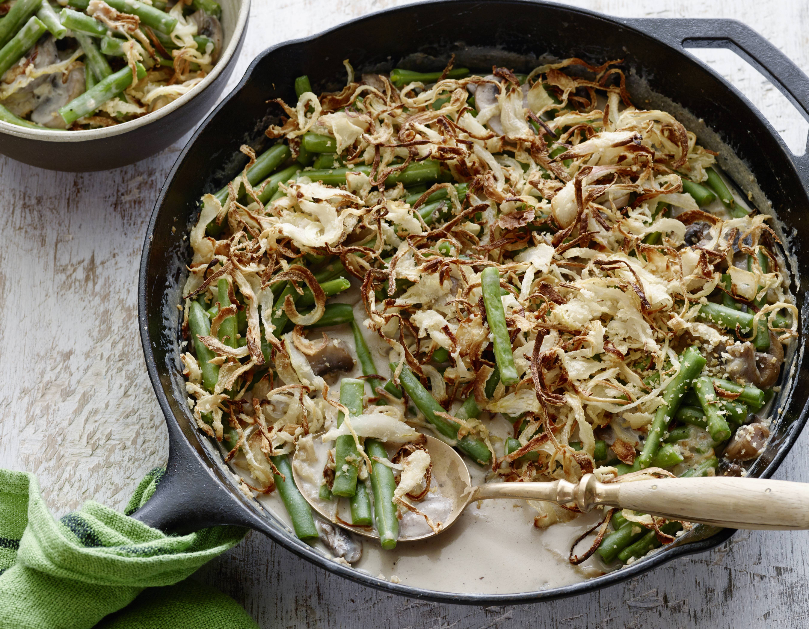 Green Bean Casserole Recipe  10 Perfect Side Dishes for Your Thanksgiving Turkey