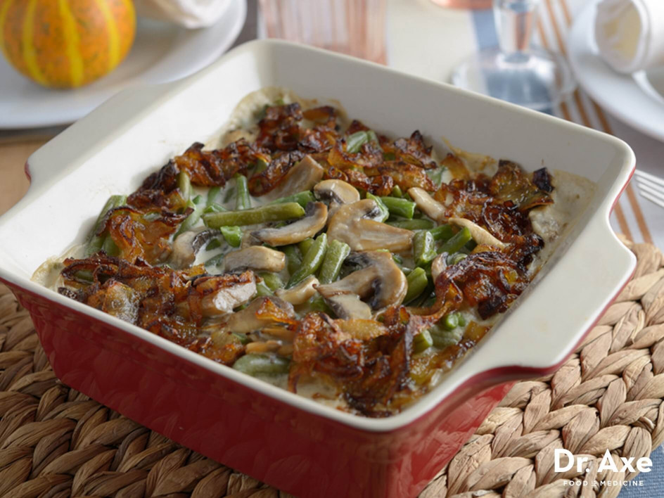 Green Bean Casserole Recipe  Green Bean Casserole Recipe Dr Axe