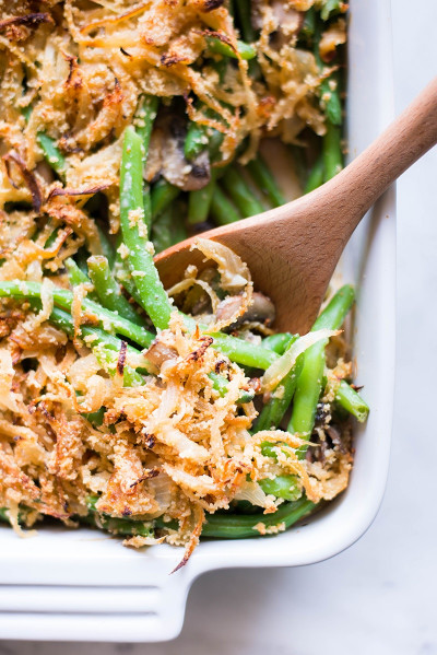 Green Bean Casserole Recipe  Healthy Green Bean Casserole