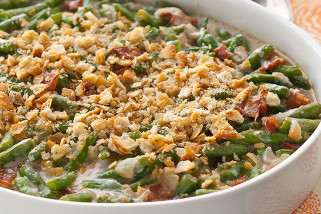 Green Bean Casserole Recipe  Fresh Green Bean Casserole Kraft Recipes