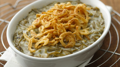 Green Bean Casserole Recipe  Easy Green Bean Casserole Recipe Pillsbury