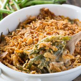 Green Bean Casserole Recipe  Cheesy Green Bean Casserole Spicy Southern Kitchen